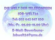 Telefonistin Heimarbeit Job im Homeoffice