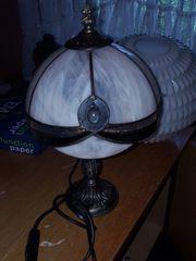 Tischlampe - Tiffany - Handarbeit