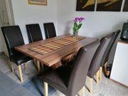 Küchentisch mit 6 Stühlen