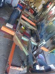 Anhänger Traktor Kipper