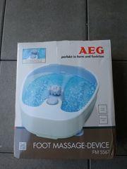 AEG Fussmassagegerät nagelneu