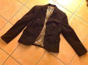 ORWELL Anzug dunkelbraun Business-Look Damen