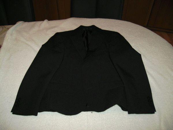 Festlicher Kinder Anzug schwarz Größe