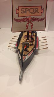 Römische Galeere Playmobil