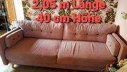 Couch rosa zu verschenken