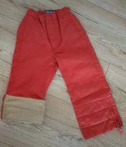 Hose Gr 104 Rot Braun
