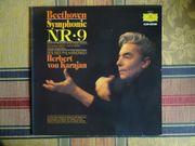 Beethoven Symphonie No9 Karajan LP