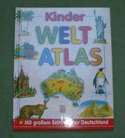 Kinder Weltatlas ohne Extra-Poster Deutschland -