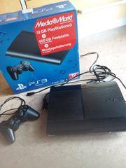 Sony PS3 schwarz