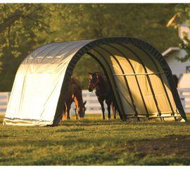 Pferdeboxen, Stellplätze - Weidezelt und Unterstand als Wetterschutz