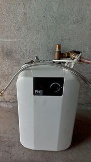 Druckfester Warmwasser Elektrospeicher 10 Lt