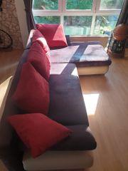 Couch ausziehbar mit Bettkasten