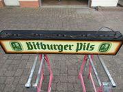 Leuchtreklame Bitburger Pils