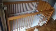 Kinderbett aus Holz 70x140cm