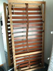 2 Holzlattenrost mit verstellbaren Kopf-