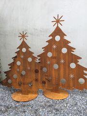 Metall Christbaum Außendekoration Weihnachten