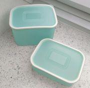 2 Tupperwaren Brotdosen im Set