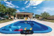 Ferienhaus mit Pool Stankovci Dalmatien