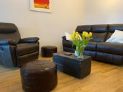 Sofa und Sessel mit Relaxfunktion