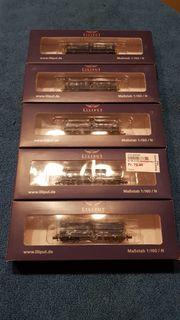 Liliput L265585 Muldenkippwagen 4-achsig BLS