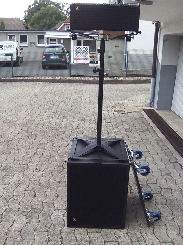 Vermietung Hochleistungs-PA Aktiv Westlab Audio