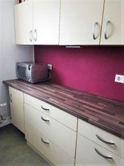 Küche Vanillefarben inkl Geräte Selbstabbau
