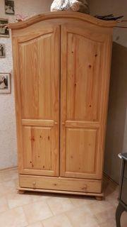 Mehrzweckschrank helles Natur Holz 186x90x58cm