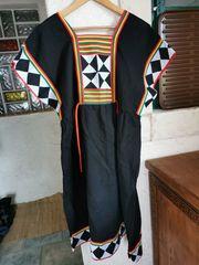 Faschingskostüm Thailändisches Kleid Mütze
