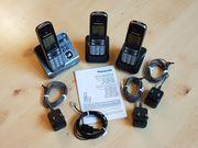 3 Stück Panasonic Telefone mit