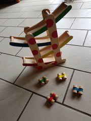 Kugelbahn Auto Rennbahn Holz