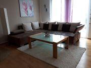 Couch Wohnlandschaft Sofa Wohnzimmertisch