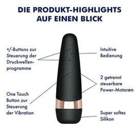 Sexspielzeug - DRUCKWELLEN-VIBRATOR - SATISFYER PRO 3 NEU