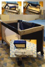 Kinder-Reisebett mit Matratze