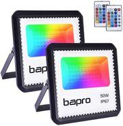 2er RGB 50W LED Strahler