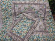 Neu Patchwork Kinderbettset Decke und