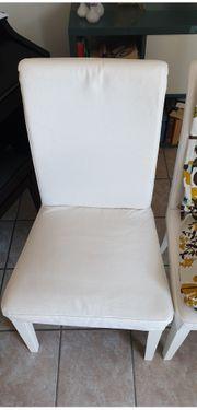 Henriksdal Stühle mit Stuhlhussen in
