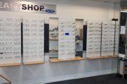 Augenoptiker Optiker Ladeneinrichtung Inventar Brillenwände