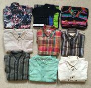 9 Hemden - Größe M - verschiedene