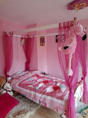 Set Kinderzimmer Möbell Prinzessin Bett