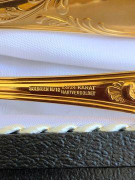 Solingen Gold Besteck hartvergoldet 23: Kleinanzeigen aus Bayreuth Laineck - Rubrik Sonstige Sammlungen