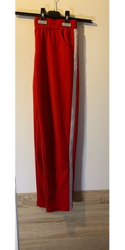 Rot weiße leggings Größe L