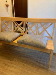 Sitzbank Holz 150x45 cm