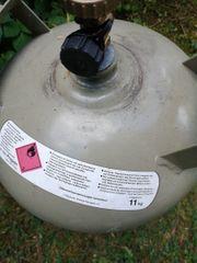Propangas Eigentumsflasche grau ungefüllt 11kg
