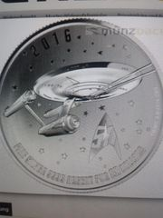 Star Trek 20 Dollar Silber
