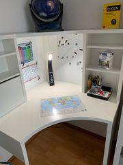 Schreibtisch Ikea weiß Micke Eckarbeitsplatz