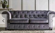 Sofa Set Chesterfield 2x 3er