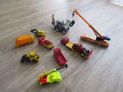 verschiedene SIKU Baustellenfahrzeuge