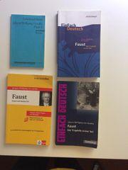 Goethe Faust Bücher Lektürenschlüssel