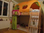 Spielbett-Paidi-Pinetta Hochbett -Kiefer-Fichte-Natur-120-cm-oder-155-cm-gebraucht guter Zustand