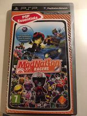 PSP Spiel Modnation Racers